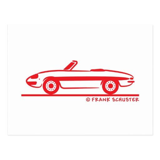 1966 Alfa Romeo Duetto Spider Veloce Post Card