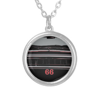 1966 Chevelle Silver Plated Necklace