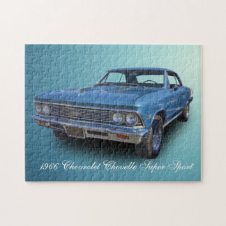 1966 CHEVROLET CHEVELLE SS JIGSAW PUZZLE