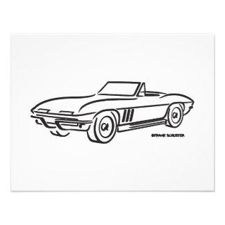 1966 Chevrolet Corvette Personalized Announcement