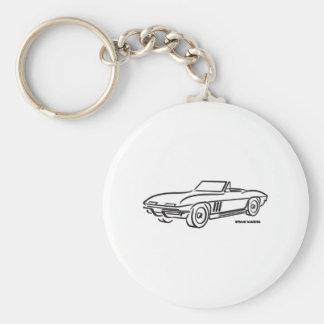 1966 Chevrolet Corvette Key Ring