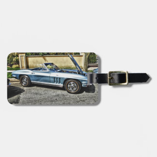 1966 Chevrolet Corvette Luggage Tag