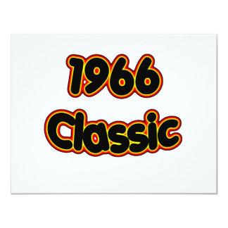 1966 Classic 11 Cm X 14 Cm Invitation Card