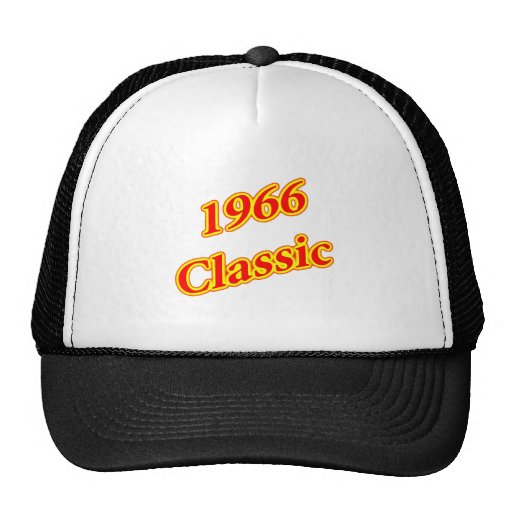 1966 Classic Red Trucker Hats