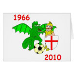 1966 England 2010 Greeting Cards