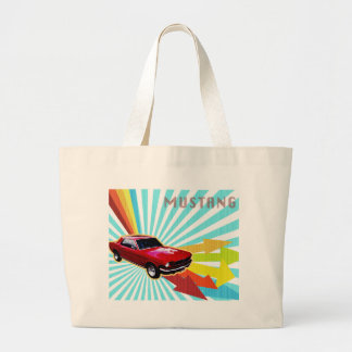 1966 Ford Mustang Canvas Bag