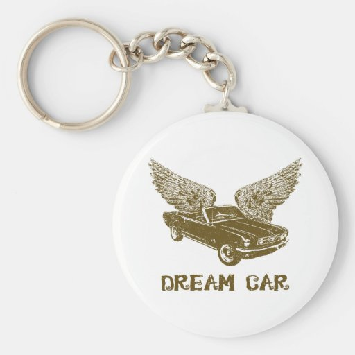 1966 Ford Mustang Convertible Keychain