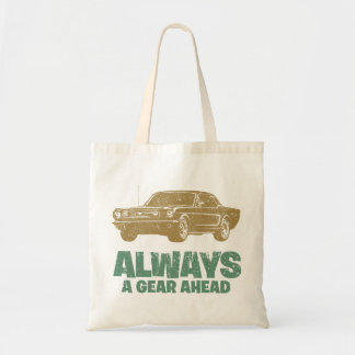 1966 Ford Mustang Coupe Canvas Bag