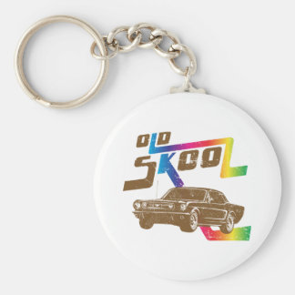 1966 Ford Mustang Coupe Keychains