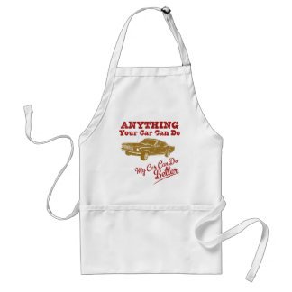 1966 Ford Mustang Fastback Adult Apron
