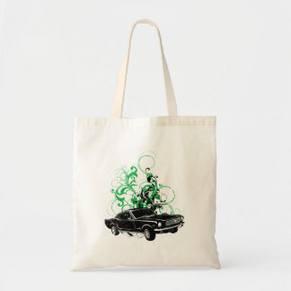 1966 Ford Mustang Fastback Budget Tote Bag