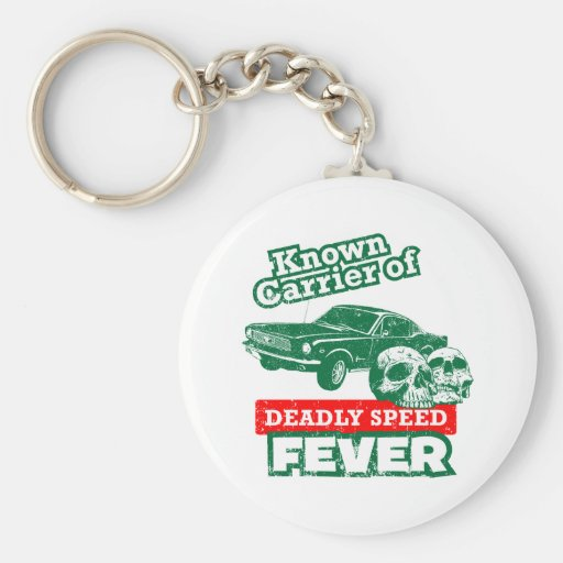 1966 Ford Mustang Fastback Key Chain