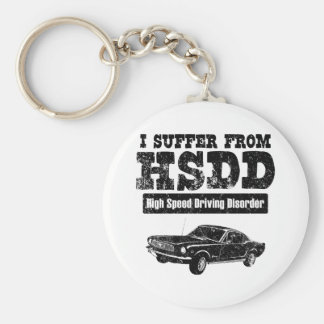 1966 Ford Mustang Fastback Keychain