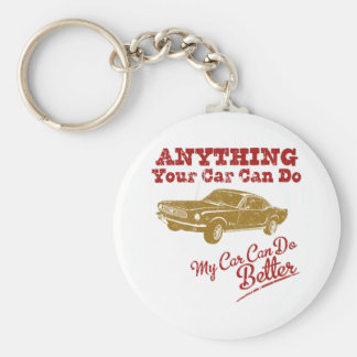 1966 Ford Mustang Fastback Key Chains