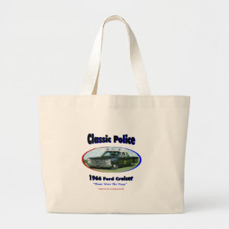1966 Ford Police Cruiser Canvas Bags