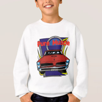 1966 GTO Muscle Car Sweatshirt
