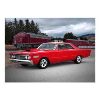 1966 Mercury Monterey Classic Car Invitations