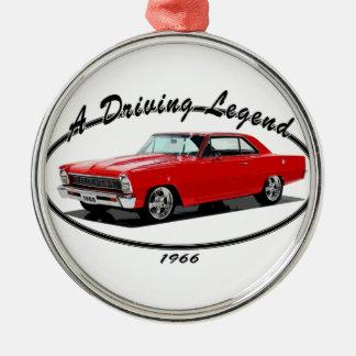 1966_nova_red christmas ornament