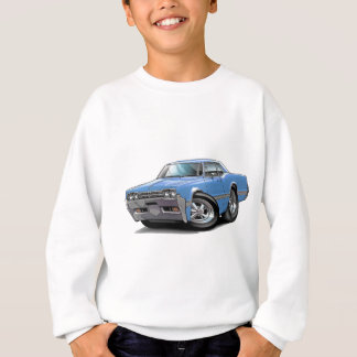 1966 Olds Cutlass Lt Blue Car Sweatshirt
