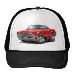 1966 Olds Cutlass Red-Black Top Car Cap