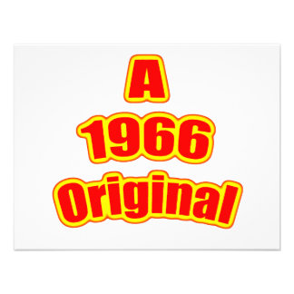 1966 Original Red Custom Invite