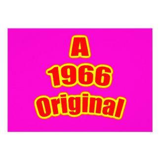 1966 Original Red Mag Invite