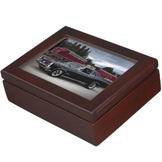 1966 Pontiac GTO Muscle Car Locomotive Train Keepsake Box