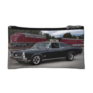 1966 Pontiac GTO Muscle Car Locomotive Train Makeup Bag