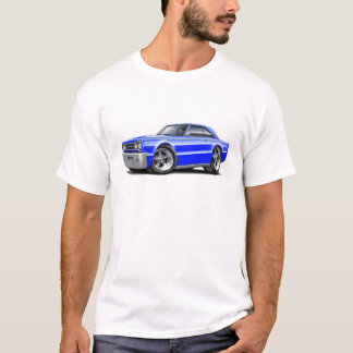 1967 Belvedere Blue Car T-Shirt