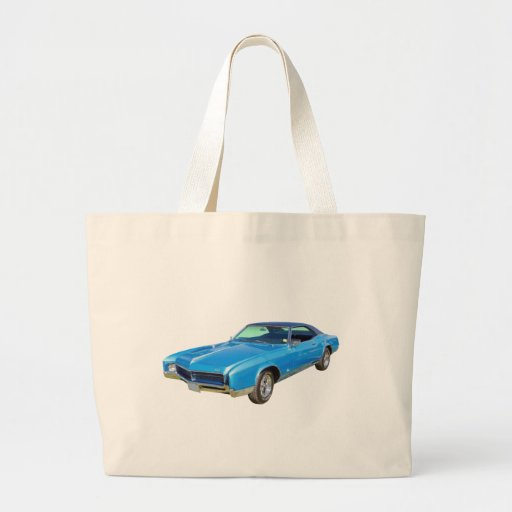1967 Buick Riviera Muscle Car Canvas Bags