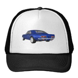 1967 Camaro SS: Blue Finish: 3D Model: Cap