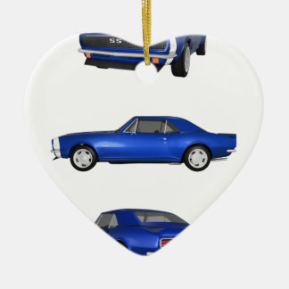 1967 Camaro SS: Christmas Ornament