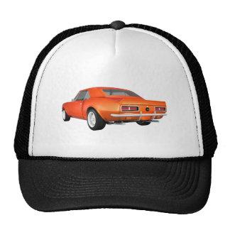 1967 Camaro SS: Orange Finish: 3D Model: Cap