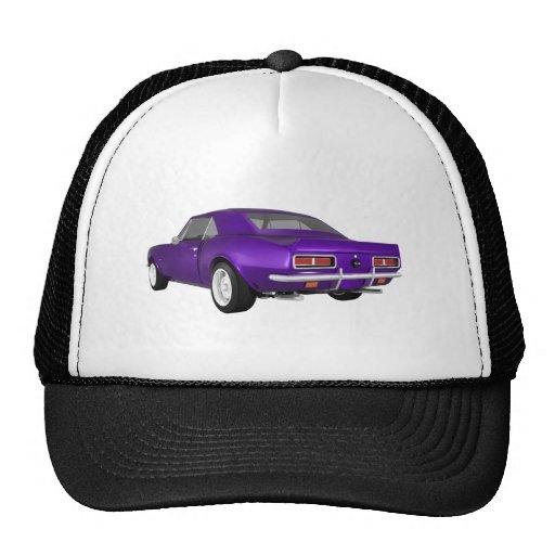1967 Camaro SS: Purple Finish: 3D Model: Mesh Hat