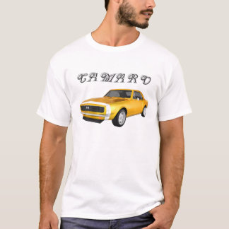 1967 Camaro SS: Yellow Finish: 3D Model: T-Shirt