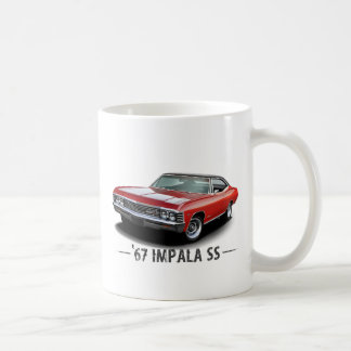 1967 Chevrolet Impala SS Basic White Mug