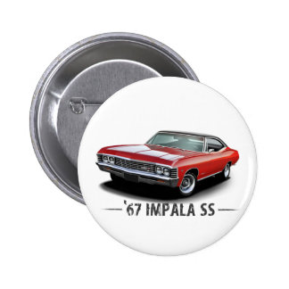1967 Chevrolet Impala SS Buttons