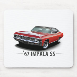 1967 Chevrolet Impala SS Mouse Pads