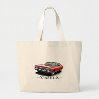 1967 Chevrolet Impala SS Tote Bags