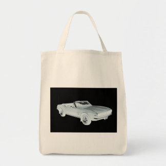 1967 Chevy Camaro RS Muscle Car Pop Art Bags