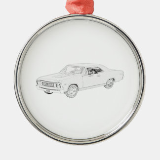 1967 Chevy Chevelle Christmas Ornament