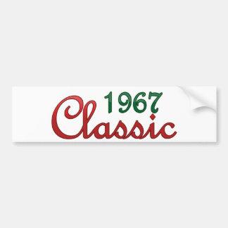 1967 Classic Bumper Sticker