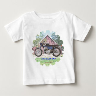1967 Classic Motorcycle Yamaha Baby T-Shirt