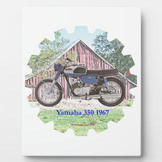 1967 Classic Motorcycle Yamaha Photo Plaques