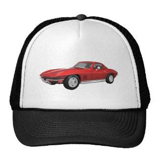 1967 Corvette: Sports Car: Red Finish: Cap