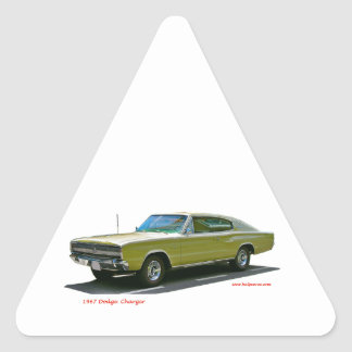 1967_Dodge_Charger Triangle Sticker