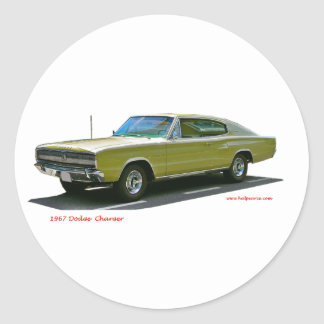 1967_Dodge_Charger Stickers