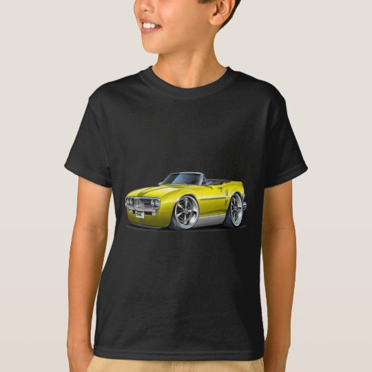 1967 Firebird Yellow Convertible T-Shirt
