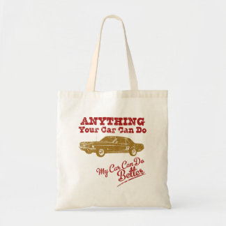 1967 Ford Mustang Coupe Canvas Bag