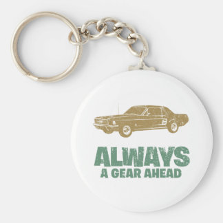 1967 Ford Mustang Coupe Key Chain